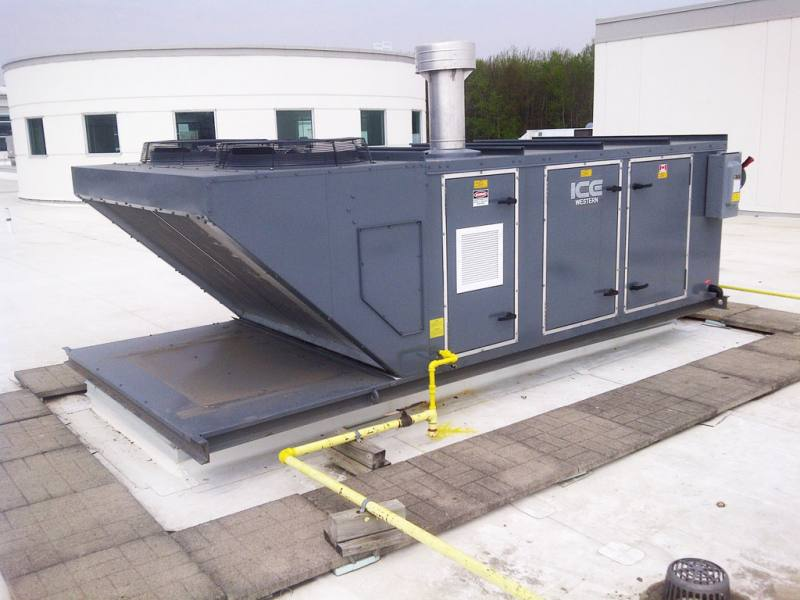 Ice Western Sales Indirect Fired Make Up Air Units